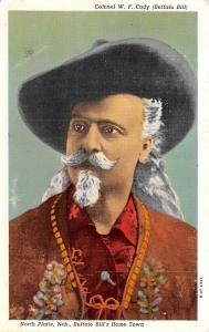 Circus Post Cards Colonel Wm.F. Cody Buffalo Bill Postal Used Unknown