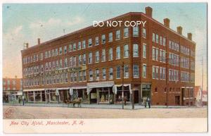 New City Hotel, Manchester NH