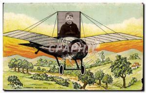Old Postcard child Jet