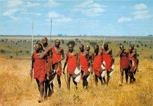us8394 maasai mombasa kenya  kenya africa folklore costume types