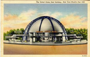 NY - 1939 New York World's Fair. U.S. Steel Building