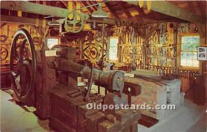 Old Vintage Shaker Post Card Blacksmith Shop 1820, The  Museum Old Chatham, N...