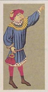 Brooke Bond Vintage Trade Card British Costume 1967 No 5 Man's Day Clothes Ci...