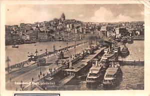 Turkey Old Vintage Antique Post Card Koprii Gorunusu Istanbul, Real Photo Pos...
