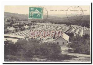 Creuse La Courtine Old Postcard General view of tents
