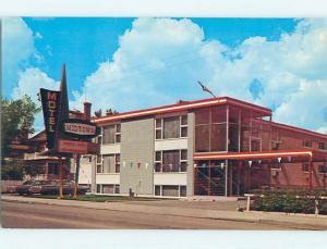 Unused Pre-1980 MIDTOWN MOTEL Moose Jaw Saskatchewan SK o0381