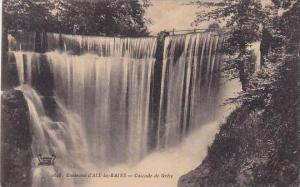 France Aix les Bains Cascade de Gresy