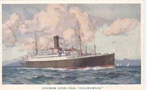 Anchor Line Ocean Liner T.S.S. California , 00-10s