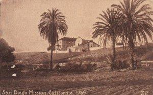 SAN DIEGO, California, 1900-1910s; San Diego Mission