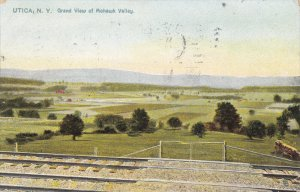 TUCK #5885; UTICA, New York; Grand View of Mohawk Valley, PU-1098