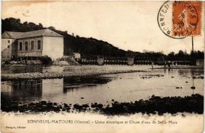 CPA Bonneuil-Matours Usine electrique et Chute d'eau de Saint-Mars (613161)