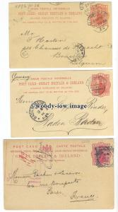 su3288 - Early Postcards with London Postmarks, Burns & Oates Ltd. - 5 postcards