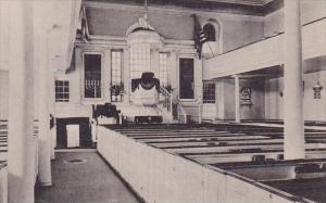 Interior Chris Church Alexandria Virginia Albertype