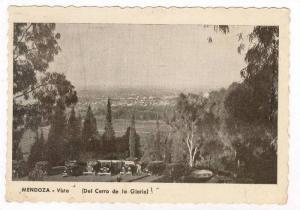 MENDOZA - Vista (Del Cerro de la Gloria), 1910-30s