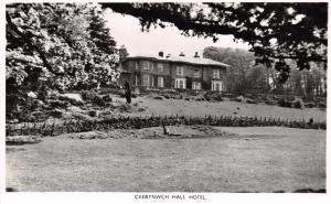 DOLGELLAU WALES UK CAERYNWCH HALL HOTEL~PHOTO POSTCARD
