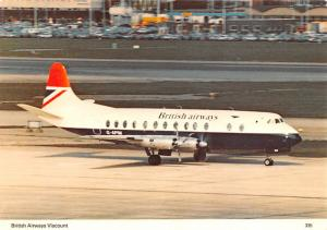 British Airways Viscount -