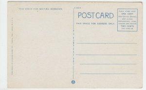 P1978  old postcard people RR tracks train scene travel through orange grove FL