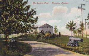 Cannon , MacDonald Park , Kingston , Ontario , Canada, 00-10s