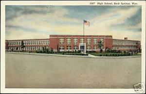 Rock Springs, Wyoming, High School (1940s)