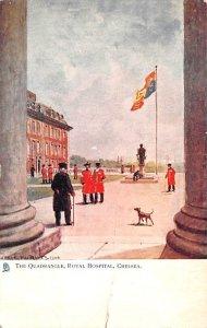 Quadrangle, Royal Hospital Chelsea United Kingdom, Great Britain, England Wri...