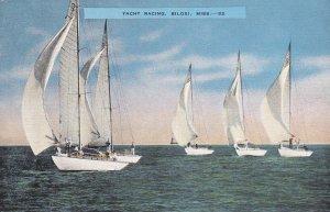 BILOXI , Mississippi , 30-40s ; Yacht Racing