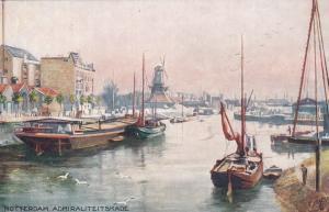 ROTTERDAM. Admiraliteitskade, Netherlands, 1900-10s ; TUCK 7599