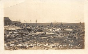 F56/ Yutan Nebraska RPPC Postcard 1913 Tornado Disaster 1