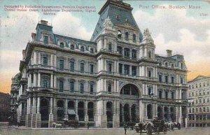 Massachusetts Boston Post Office 1909