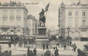 BRUXELLES , Belgium, 00-10s ; La place Royale