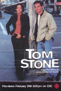 Advertising Tom Stone on CBC Television Canada
