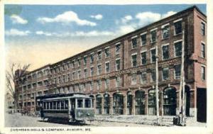 Cushman-Hollis Company Auburn ME Unused