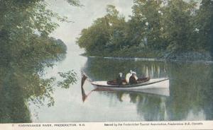 Motor Boating on the Nashwaaksis River - Fredericton NB, New Brunswick, Canada