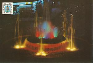 Postal 51387: MELILLA - Fuente luminosa