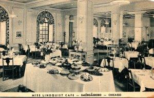 Illinois Chicago Miss Lindquist Cafe Smorgasbord