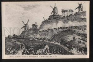 100876 FRANCE Episodes de la revolution Canons de Paris Old PC