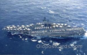 U.S.S. Ranger Military Aircraft Carrier  U.S.S. Ranger