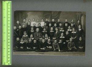 230915 RUSSIA 1916 priest Dmitriyev teacher Zotova children