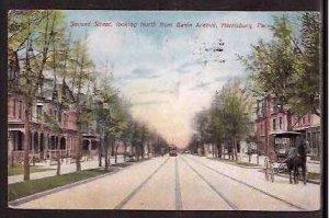 PA Harrisburg Second Street 1909
