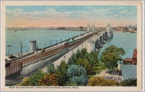 West Boston Bridge, Charles River Basin, Boston Mass