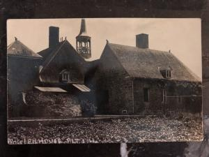 Mint US BW Real picture Postcard Power House 1721 Needham Massachusetts
