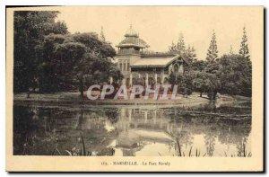 Old Postcard Marseille Borely Park