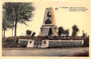 Waterloo Belgium, Belgique, Belgie, Belgien Monument des Belges Waterloo Monu...