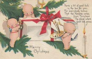 Rosie O'NEILL; CHRISTMAS ; 3 Kewpies , 1923