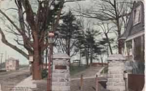 ROCHESTER, New York, 1900-1910's; Entrance To Hudson Park