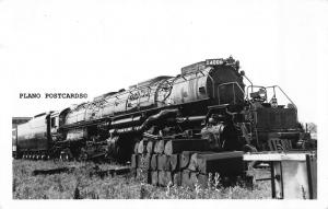 UNION PACIFIC ENGINE #4006 RPPC REAL PHOTO POSTCARD