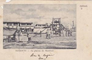 Djibouti , PU-1905 ; Au Plateau du Marabout ; Wooden Mini-Ferris wheel