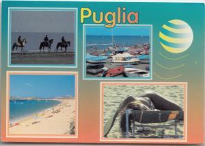 PUGLIA, Italy, 1995 used Postcard