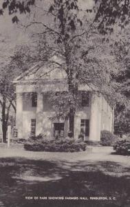 Park & Farmer's Hall , PENDLETON , South Carolina , 1910s