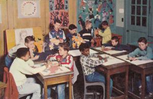 BOYS TOWN, Nebraska, 40-60s; Grade School Art Room
