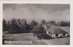 Mothers' Memorial & Class Room Building Conference Grounds Dunkirk NY pm 1958